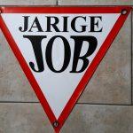 Banner jarige job  € 5,00