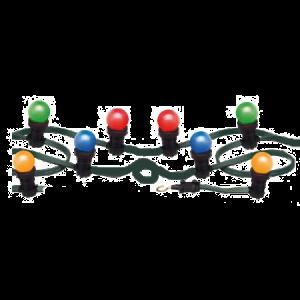 Prikkabel wisselkleur met LED lampen (10 meter)   € 7,50