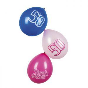 Ballonnen voor sarah