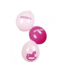 Ballonnen baby girl