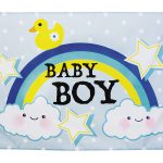 Gevelvlag baby boy