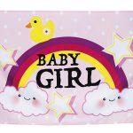 Gevelvlag baby girl  (53216)
