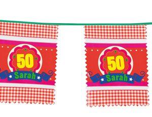 Vlaggenlijn voor sarah 1