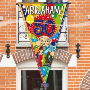 Puntvlag abraham