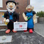 Bruidspaar cartoon  € 70,00