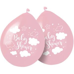 Ballonnen babyshower meisje  (65365)