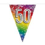 Folievlaggenlijn 50 jaar