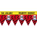 Party tape – afzetlint – 50 jaar